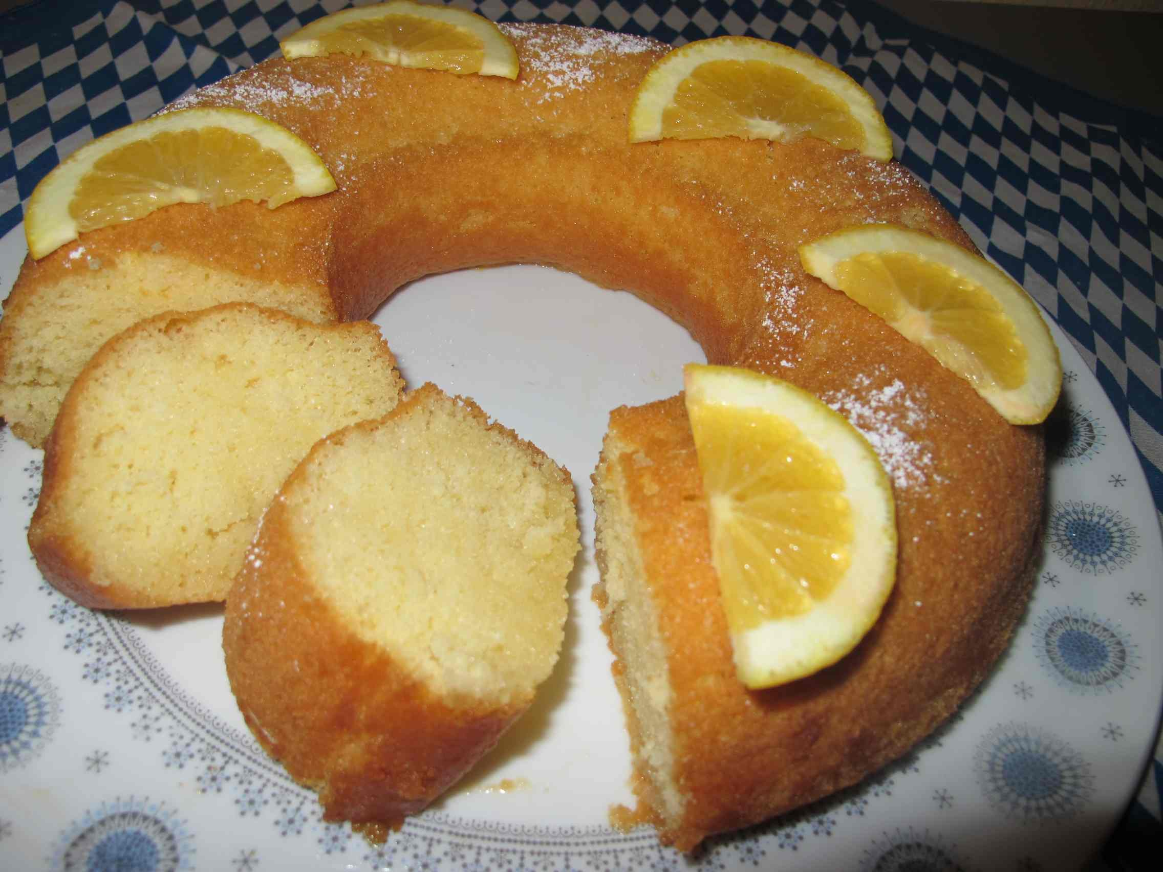 Orange-Rum Cake | ingeskitchen.com